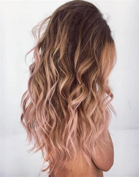 20 Brilliant Rose Gold Hair Color Ideas In 2019 Hair