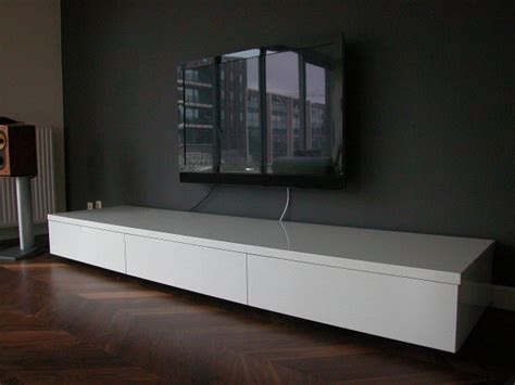 tv meubel hoogglans wit hangend ikea awesome excellent herrlich lowboard lang m holz wei