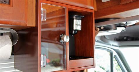roadtrek modifications mods upgrades and gadgets custom k coffee brewer station