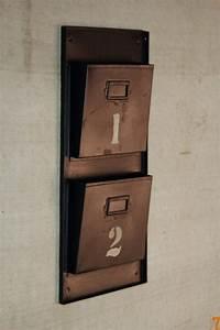 Range Document Metal : barak 39 7 mobilier esprit industriel ~ Teatrodelosmanantiales.com Idées de Décoration