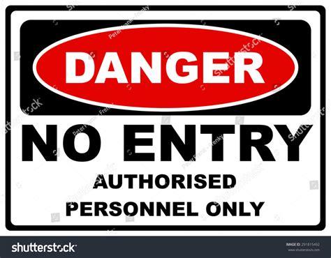 Danger Label Sign On White No Stock Vector 291815492
