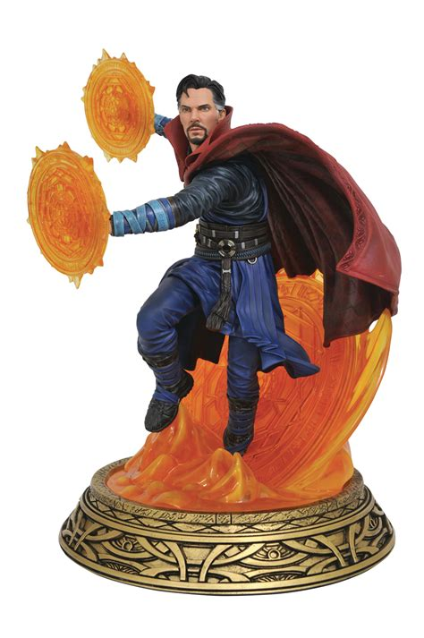 May172527  Marvel Milestones Dr Strange Movie Statue
