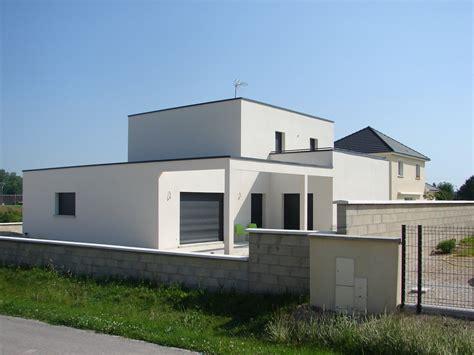 photo maison cube moderne maison cube contemporaine 224 troyes