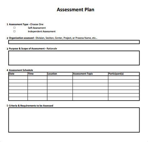 sample assessment   samples examples format