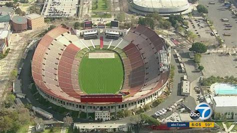 la coliseum prepares  host nfl games   abccom