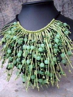 boracay necklace boracay palms necklace a beaded collar jewelry