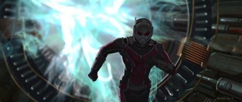 captain america civil war concept art features ant