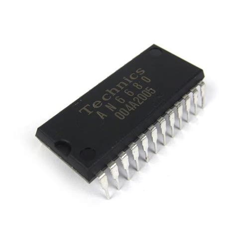 Technics Integrated Circuit Control Chip For