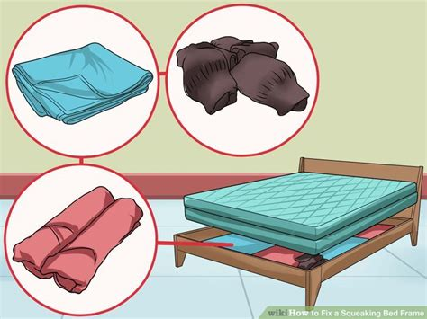 fix  squeaking bed frame
