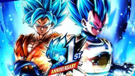 dragon ball legends anniversaire vegetto goku ssj blue