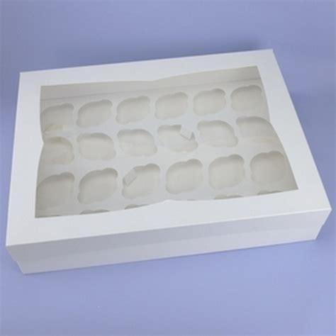cavity deep cupcake box  clear lid insert