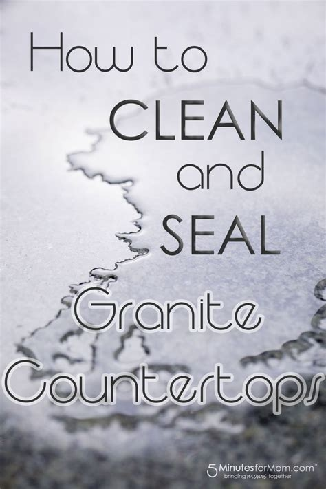 25 best ideas about sealing granite countertops on
