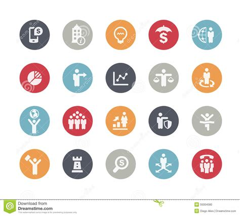 14701 business icon vector business icon set classics stock vector image 55004580