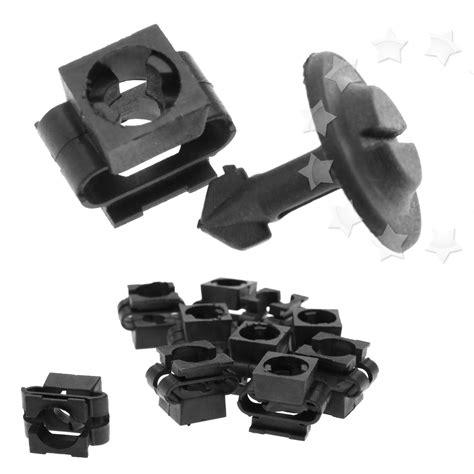 pcs engine undertray cover screws clips  audi