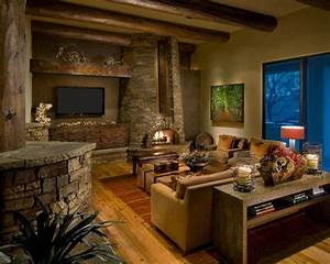 Unique and Attractive Rustic Living Room Ideas