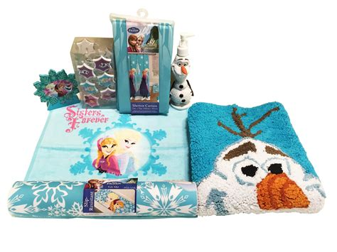 Disney Frozen Bathroom Set by Disney Archives She Scribes