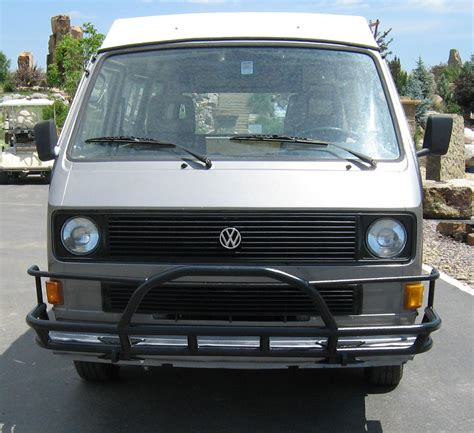 volkswagen van front vw vanagon bumpers hidden hitches front back bumpers