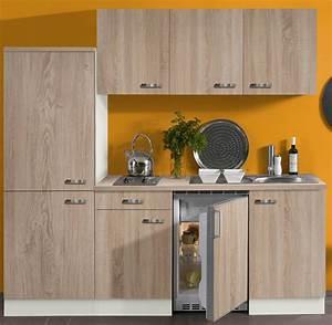 Küche Eiche Sägerau : k che toledo k chenzeile mit k hlschrank und kochfeld 2 1 m eiche s gerau ebay ~ Markanthonyermac.com Haus und Dekorationen