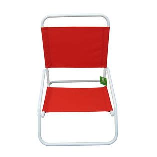 Kmart Low Chairs by Essential Garden Low Back Chair Solid Limited