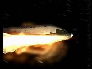 3D Re-entry of Space Shuttle Endeavour - YouTube