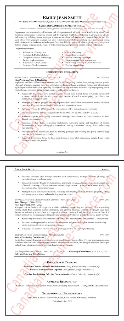 sales executive resume sle loaded with accomplishments