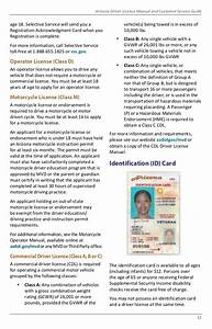 Arizona Driver License Manual And Customer Service Guide 2018