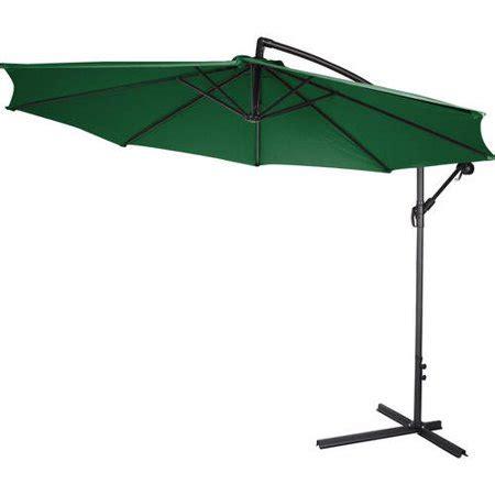 patio umbrellas walmart 10 deluxe polyester offset patio umbrella walmart