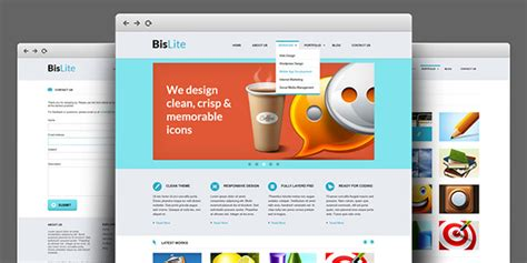 Business Website Psd Templates