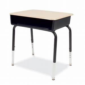 Virco 785 Series Hard Plastic Top Student Desk (set of 2) 785M