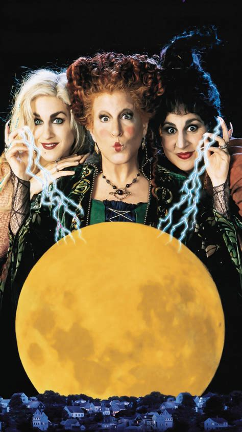 Wallpaper Hocus Pocus by Hocus Pocus 1993 Phone Wallpaper Moviemania