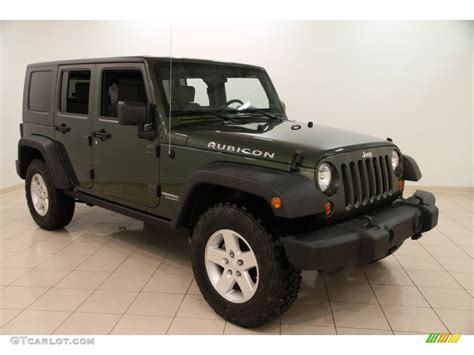 jeep metallic 2009 jeep green metallic jeep wrangler unlimited rubicon