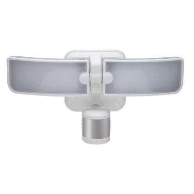 led security light home depot flood lights 180 degree outdoor white led blade motion