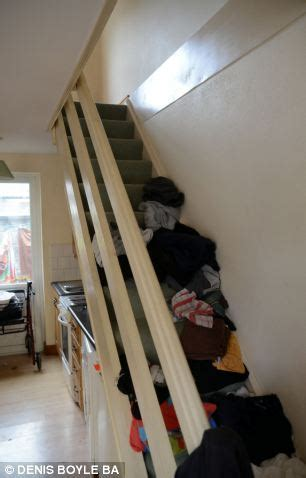 Obese Irish man forced to sleep on floor downstairs after
