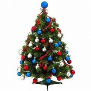 Christmas Trees Red White and Blue on Pinterest