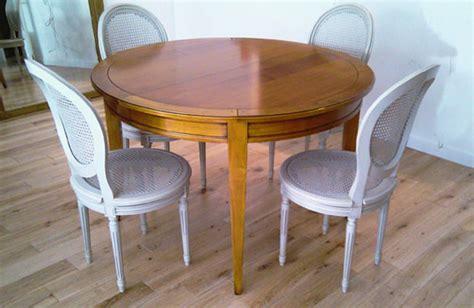 table ronde directoire avec allonges meubles hummel