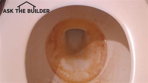 How To Clean Tough Toilet Stains  Ask The Builder