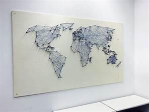 Weltkarte Bild Holz : diy die 3d weltkarte f r unter 20 euro ~ Lateststills.com Haus und Dekorationen