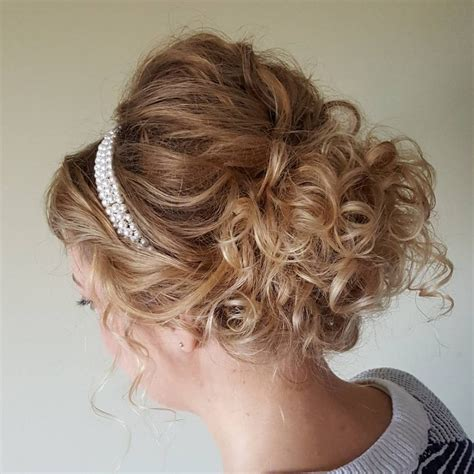 curly updos  curly hair   cute ideas