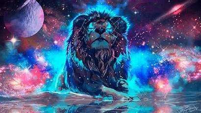 Lion 4k Artistic Colorful Wallpapers Resolution 1440p