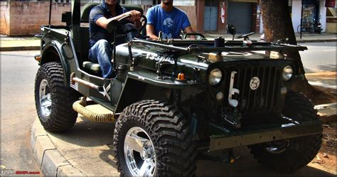 indian army jeep modified pics tastefully modified cars in india page 4 team bhp