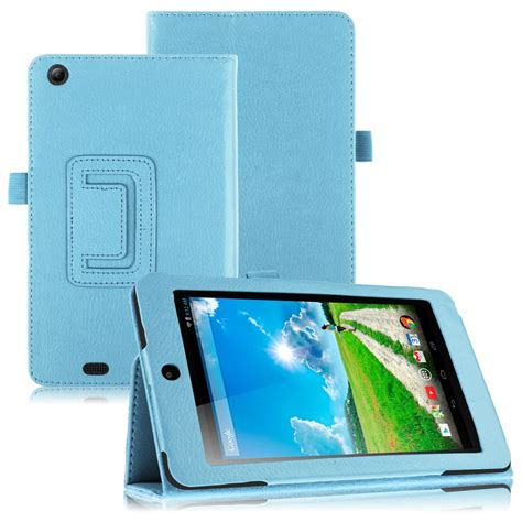Acer Tablet Cover by For Acer Iconia One 7 B1 730hd Tablet Folio Luxury Pu