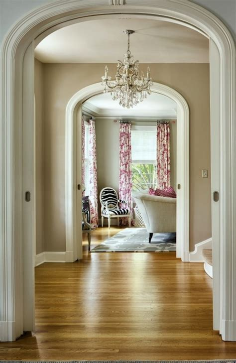 arched doorway moldings contemporary entrance foyer benjamin revere pewter martha
