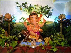 Eco-friendly Ganpati Decoration Ideas for Home