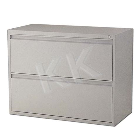 Lateral File Cabinet Drawer Dividers by Steel Lateral Filing Cabinet 2 Drawer Kk Officepoint Sdn