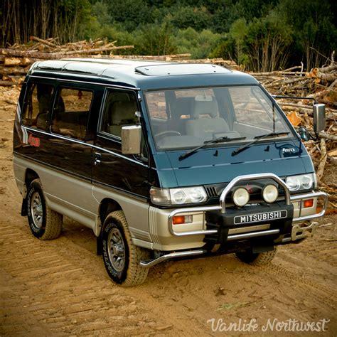 1992 mitsubishi delica l300 vanlife northwest