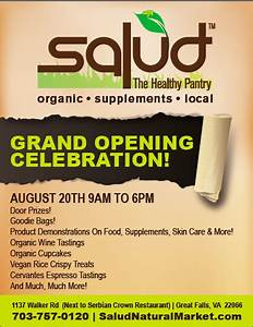 grand opening event flyer socialsalud social salud pinterest event flyers and brochures With grand opening flyer ideas