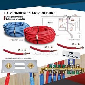 Multicouche Ou Per : kit plomberie per et multicouche pr t poser ~ Nature-et-papiers.com Idées de Décoration