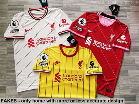 """Liverpool away kit for next season leaked online. Fakes! Nike Liverpool 21-22 Home, Away & Third Kits """"Leaked"""" - What's All Wrong - Footy Headlines"""