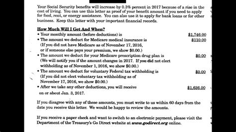 ssi benefit letter understanding your social security benefit verification 24952