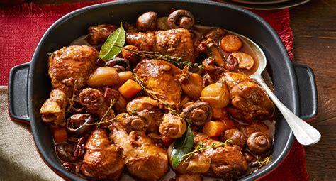 chicken drumsticks  au vin recipe recipe  homes